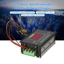 Dc6 60v 12v 24v 36v 48v Pwm Motor Speed Controller Panel Startampstop Switch F2q5