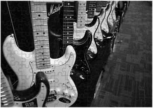 Electric Guitars Rack JIGSAW Puzzle Birthday Christmas Gift (Can Be Personalised