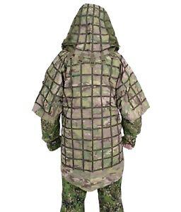 """SPOSN SSO Disguise Sniper Coat """"Ghost"""" Prizrak / Viper Hood Multicam"""