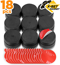 Ceramic Magnets With Adhesive Backing 1 Inch 25mm Round Disc Magnets Ferrite