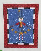 Handpainted Needlepoint Canvas Snowman Star Emily Garcia CBK ESG-PL10