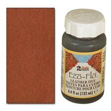 2 bottles Eco-Flo Leather Dye 4.4 fl.oz. (132ml) Range Tan - FREE SHIPPING