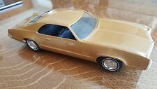 1970 OLDSMOBILE TORONADO PROMO GOLD NICE NO BOX