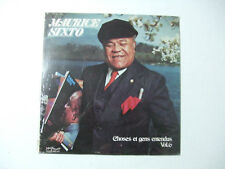 Maurice A. Sixto-Choses Et Gens Entendus Vol.6 -Disco Vinile 33 Giri LP USA 1980