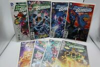 GREEN LANTERN THE NEW GUARDIANS 8 COMIC BOOK LOT