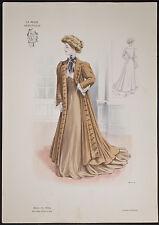 Goubaud - Fashionably Dressed Woman. 1114 - 1904 Le Mode Artistique FOLIO