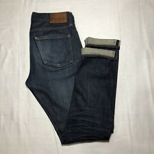 J Crew Every Stitch Considered 484 Kaihara Japanese Selvedge Denim Jeans 29x32