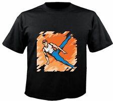 Motiv Fun T-Shirt Kunstturnen Turnen Ballet Leichtathletik wow Motiv Nr. 6269