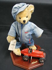 "Schuco Plush Mechanic Bear with Mercedes-Benz 1936 ""Schuco-Tricky-Racing"" (JS)"