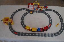 Lot N°10 : Duplo LEGO Circuit train - TB état