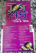 Barry Scott Lost 45s 70s & 80s Vol. 1 RARE CD Balance Sneaker Eric Carmen Tycoon