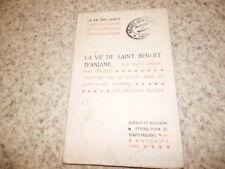 1909.Vie de Saint Benoit d'Aniane.Saint Ardon.Fernand Baumes