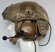 TCA COMTAC III Single Com Noise Reduction Headset For TCA TRI /Real Mil-Spec PTT