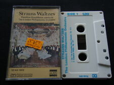 Strauss Waltzes Theodore Guschlbauer London Philharmonic Orc Tape Cassette (C20)