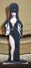 """Elvira """"Mistress of Darkness"""" Tabletop Display Standee 10 1/2"""" Tall"""