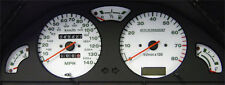 Lockwood Peugeot 106 140MPH with Rev Counter & Oil Gauge YELLOW (G) Dial Kit
