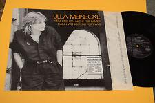 ULLA MEINECKE LP ORIG GERMANY 1984 EX+ AUDIOFILI DIRECT METAL MASTERED+TESTI