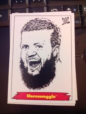 "2012 WWE Heritage Jerry ""The King"" Lawler Portraits #4 Hornswoggle NrMint-MINT"