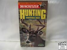 Hunting Whitetail Deer VHS Winchester Suc. Sportsman