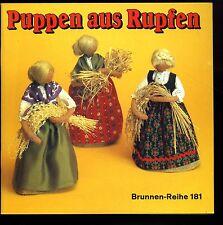 Basteln--Puppen aus Rupfen--Brunnen Reihe 181--