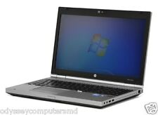HP EliteBook 8460p  Notebook - 4GB RAM, 120 GB SSD, Intel Core i5 , Win 7 Po