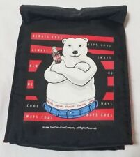 1996 Coca Cola Lunch Bag by Aladdin Polar Bear Blue Jeans New with Tag