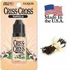 Criss Cross Vape Vapor USA 10ML Vanilla 0 mg No Nicotine - $4.99