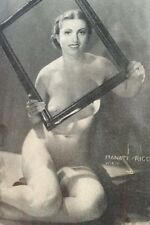 Rare Pulp Magazine Nude Girls Startlingly Different Stories 1938 Adv. Risqué