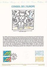 Document Philatélique Timbre 1er Jour : 26/05/ 1990 - Conseil de l'Europe