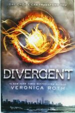 Divergent by Veronica Roth First edition Paperback 2012 bonus materials included