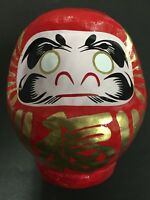 Daruma 90mm Japanese Tumbling Doll Dharma Lucky MADE IN JAPAN Happy