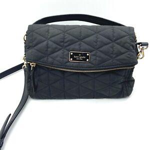 Kate Spade Blake Avenue Wilson Road Quilted Miri Black Shoulder Handbag