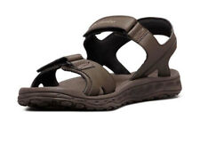 COLUMBIA Buxton 2 Strap men's hiking sandals size 11 brown beach antimicrobial