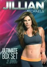 JILLIAN MICHAELS 2 DVD BOX SET EXTREME SHED & SHRED WITH HARD BODY NEW SEALED