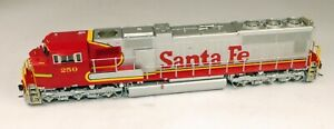 Overland Models #6145.1 Brass SD75M Powered Diesel Locomotive ATSF 1/87 HO Scale