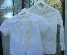 LOT DE 2 CHEMISIERS NYLON  VINTAGES