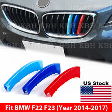 M Color Kidney Grille Grill Cover Stripe Clip BMW 2 Series 8 BARS F22 F23 13-17