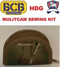BCB BRITISH ARMY SEWING SEW KIT POUCH MULTICAM MTP SAS Cadet TA Scout