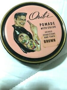 Oribe Pomade With Color BROWN Shines Conditions & Tints - 2 oz