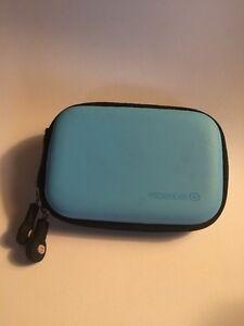Essentiel Light Blue Carrying Case For Earphones Ect.