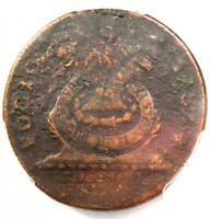 1787 Fugio Cent 1C Colonial Coin - Certified PCGS VG Details - Rare Coin!