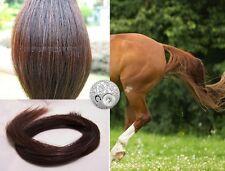"""Genuine Horse False Tail 80CM 32"""" Dark Chestnut False Horse Tail EXTENDED"""