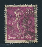 Dt. Reich 1922, MI. 241 Y gest., tadellos, gepr. INFLA Bechtold, Mi.80,-€