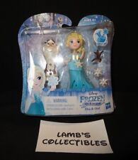 Disney Frozen Little Kingdom Elsa & Olaf figures Hasbro Snap In