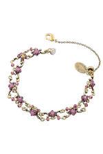 Michal Negrin Brass Bracelet Swarovski Crystals #100171880007