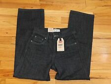 Levi's 550 Boys Black Relaxed Tapered Leg Jeans Size 10 Slim 25x25  J692