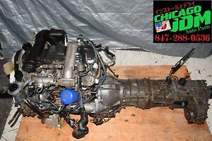 JDM Toyota 1KZ-TE Turbo Diesel 3.0L Engine 4x4 5 Speed Manual Trans Wire Ecu