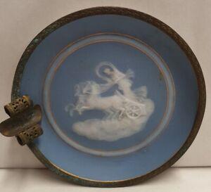 Antique Camille Tharaud Pate Sur Pate Ashtray Aurora & Chariot of Dawn c1920-29