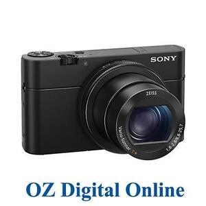 NEW Sony Cyber-shot DSC-RX100 IV 32GB Mark 4 20.1MP 4K Video MK4 1 Yr Au Wty