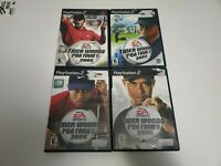 PlayStation 2 Tiger Woods PGA Tour 2002 2003 2004 2005 PS2 Bundle Lot